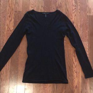 100% Cashmere BCBGMAXAZRIA V-Neck Sweater